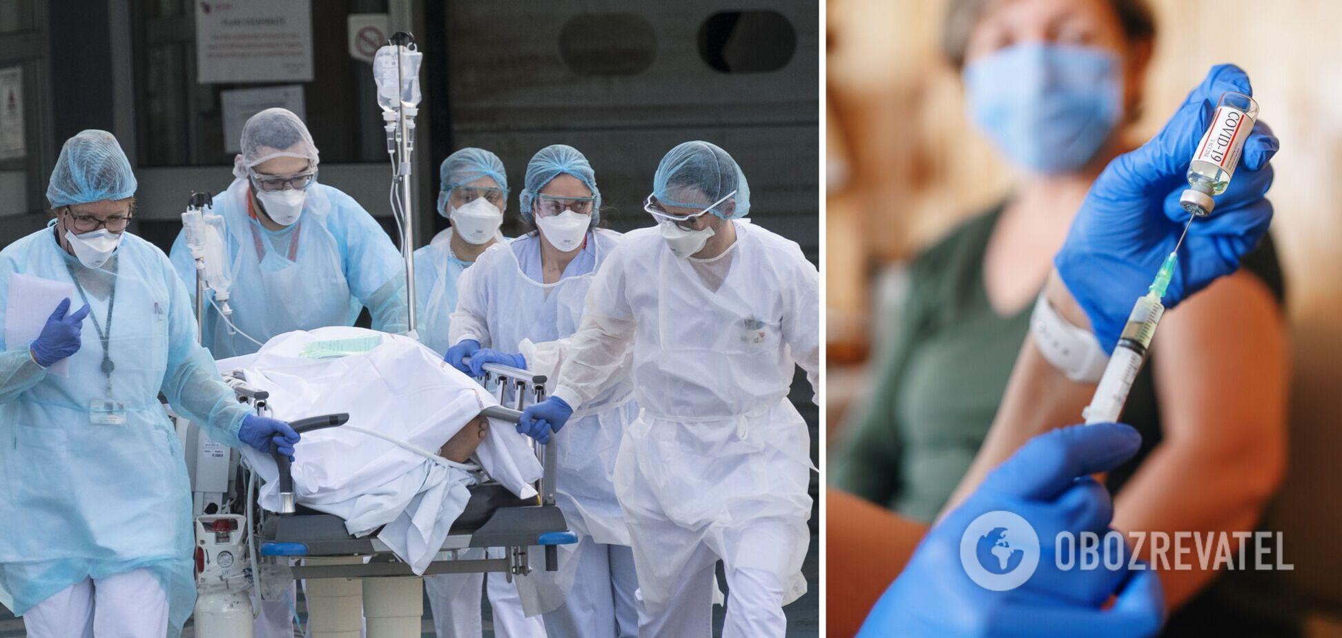 У реанімаціях вмирають невакциновані пацієнти, сказав лікар