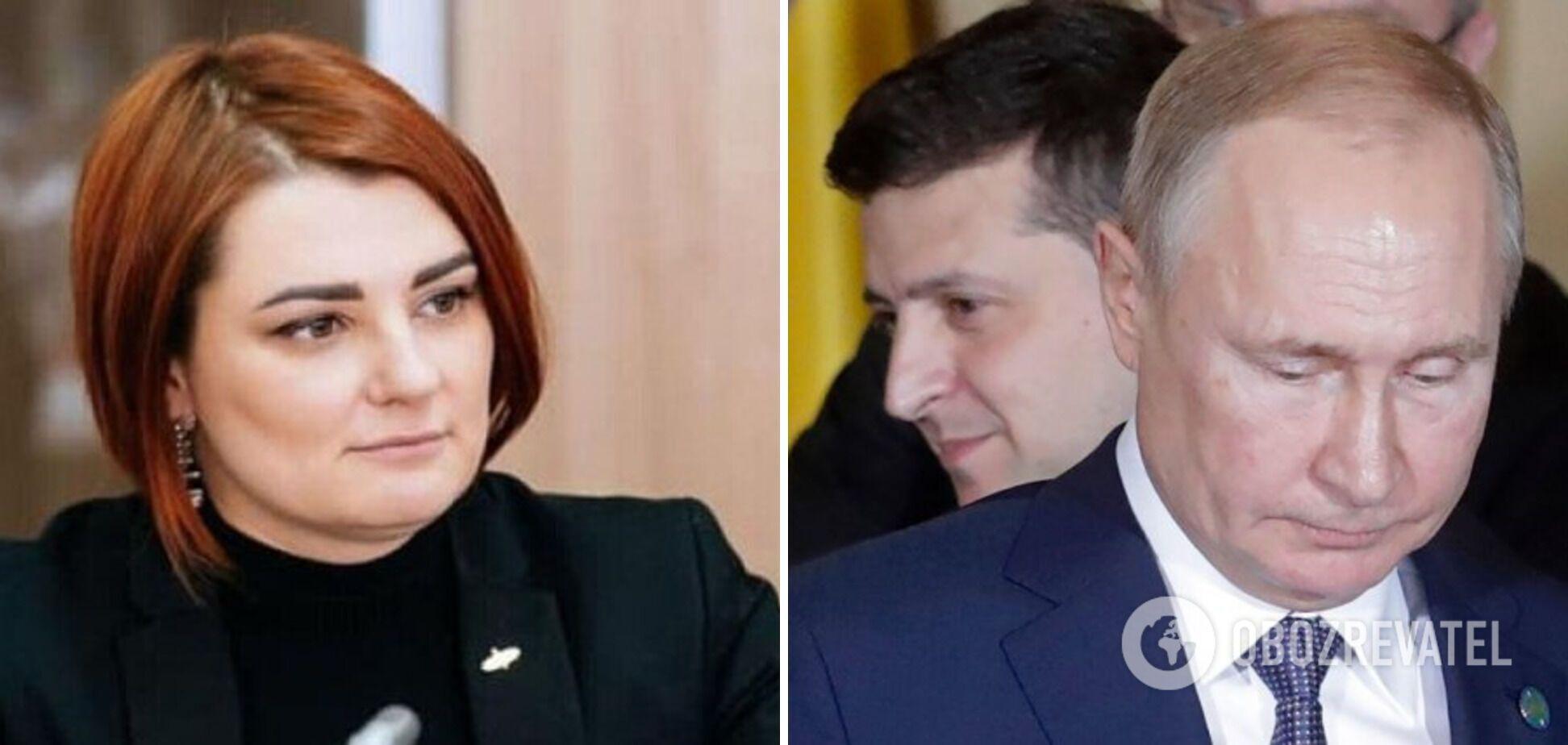 'Слуги' изгнали Буймистер за критику желания Зеленского встретиться с Путиным?
