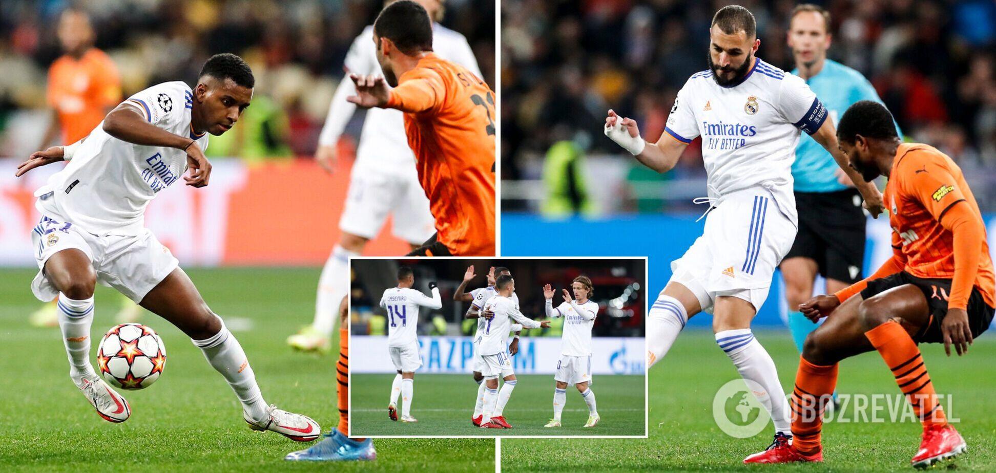Реал обыграл Шахтер в Киеве
