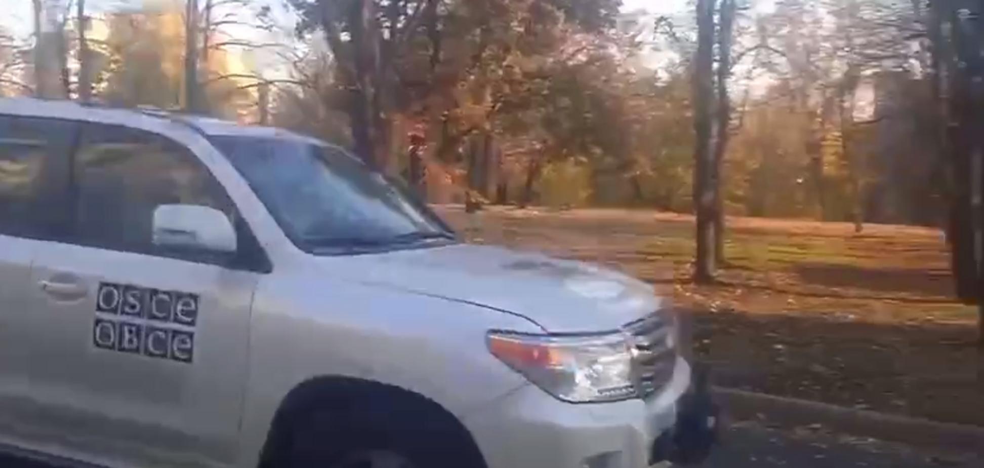 Окупанти у Донецьку припинили блокування місії ОБСЄ