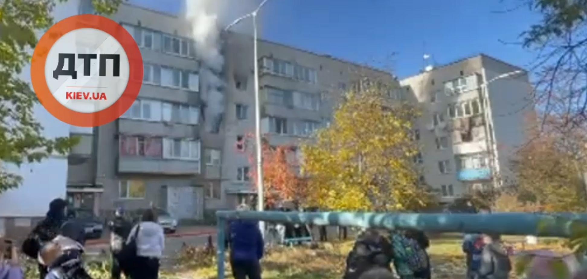 Пожежа в Бортничах, є постраждалі