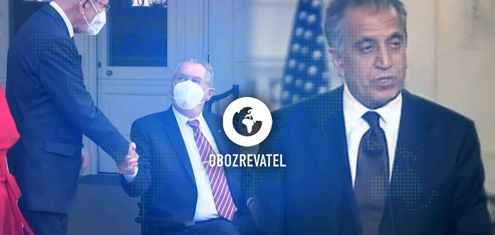 Відсторонення президента Чехії та відмова від мандата депутата парламенту колишнього президента Молдови – дайджест міжнародних подій