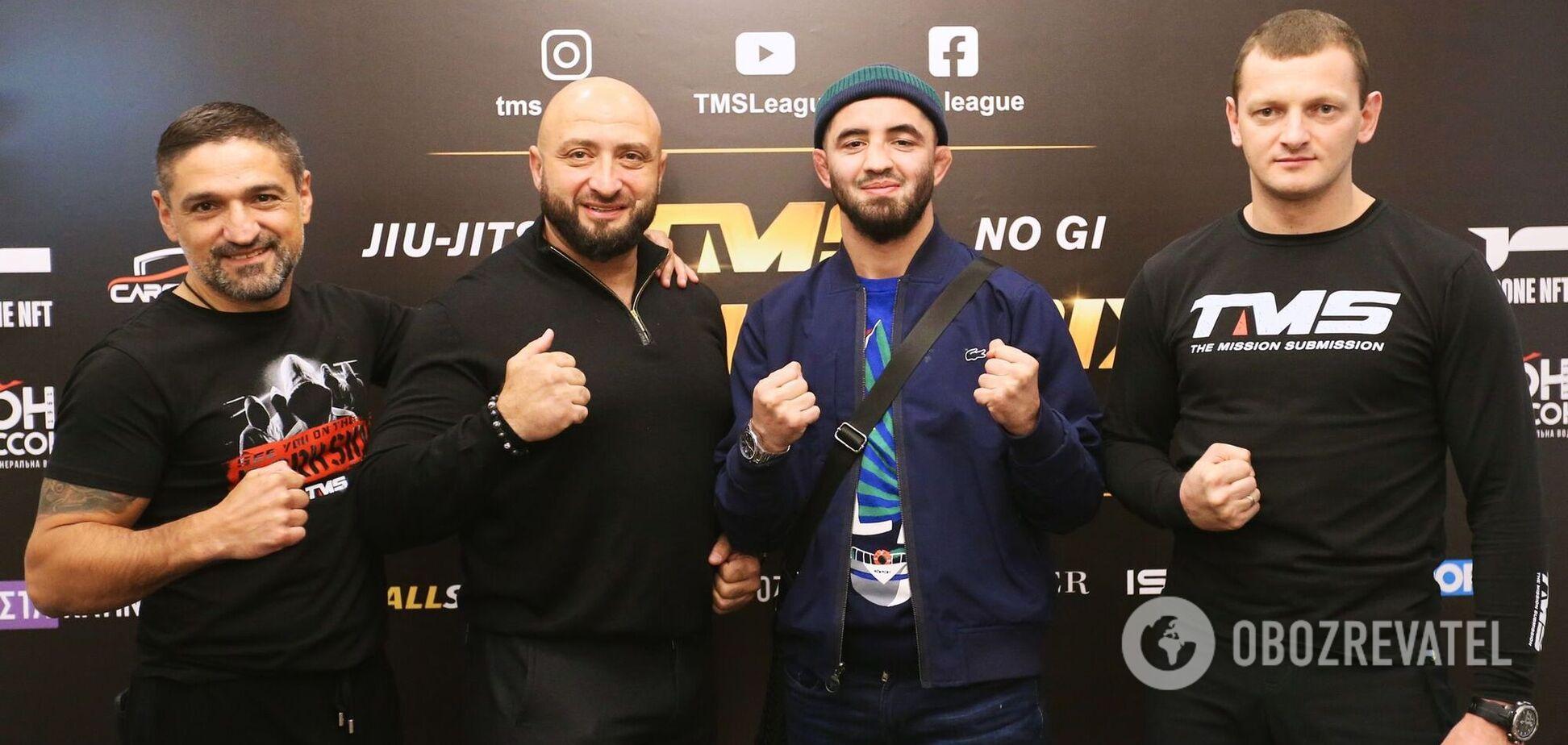 Боец UFC Людвик Шолинян стал гостем жеребьевки турнира TMS GRAND PRIX