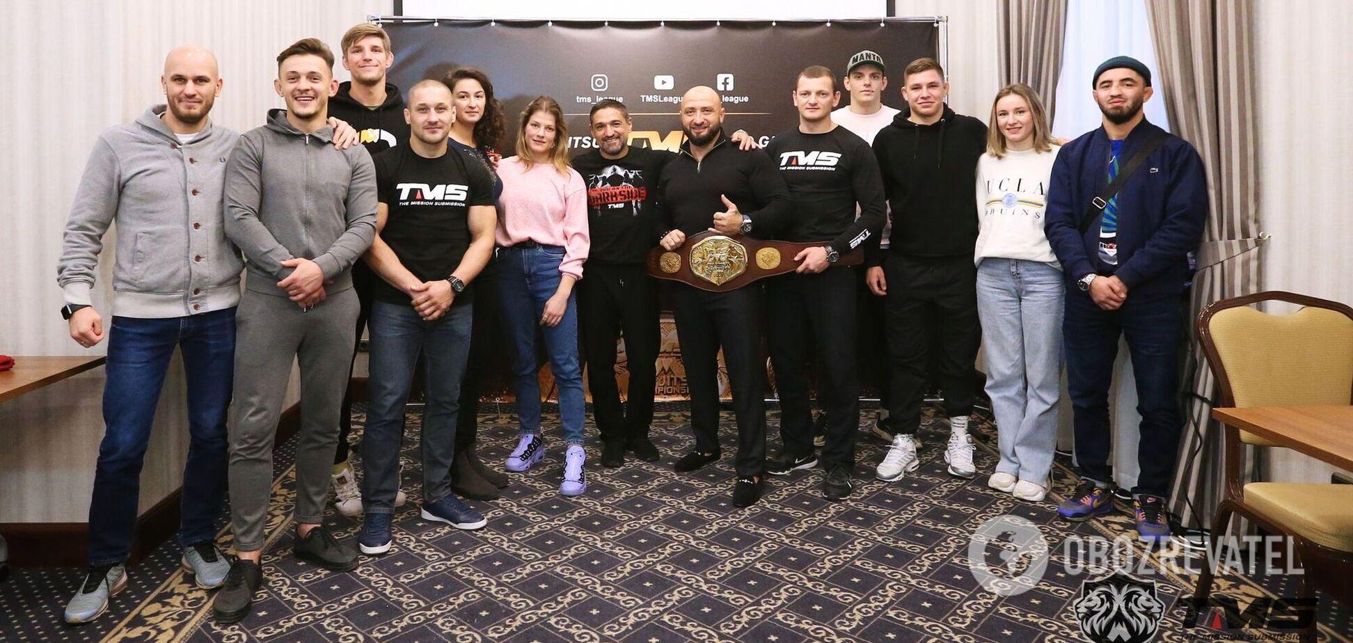 Битва за звання абсолютного чемпіона: Ліга TMS презентувала перший чемпіонський пояс