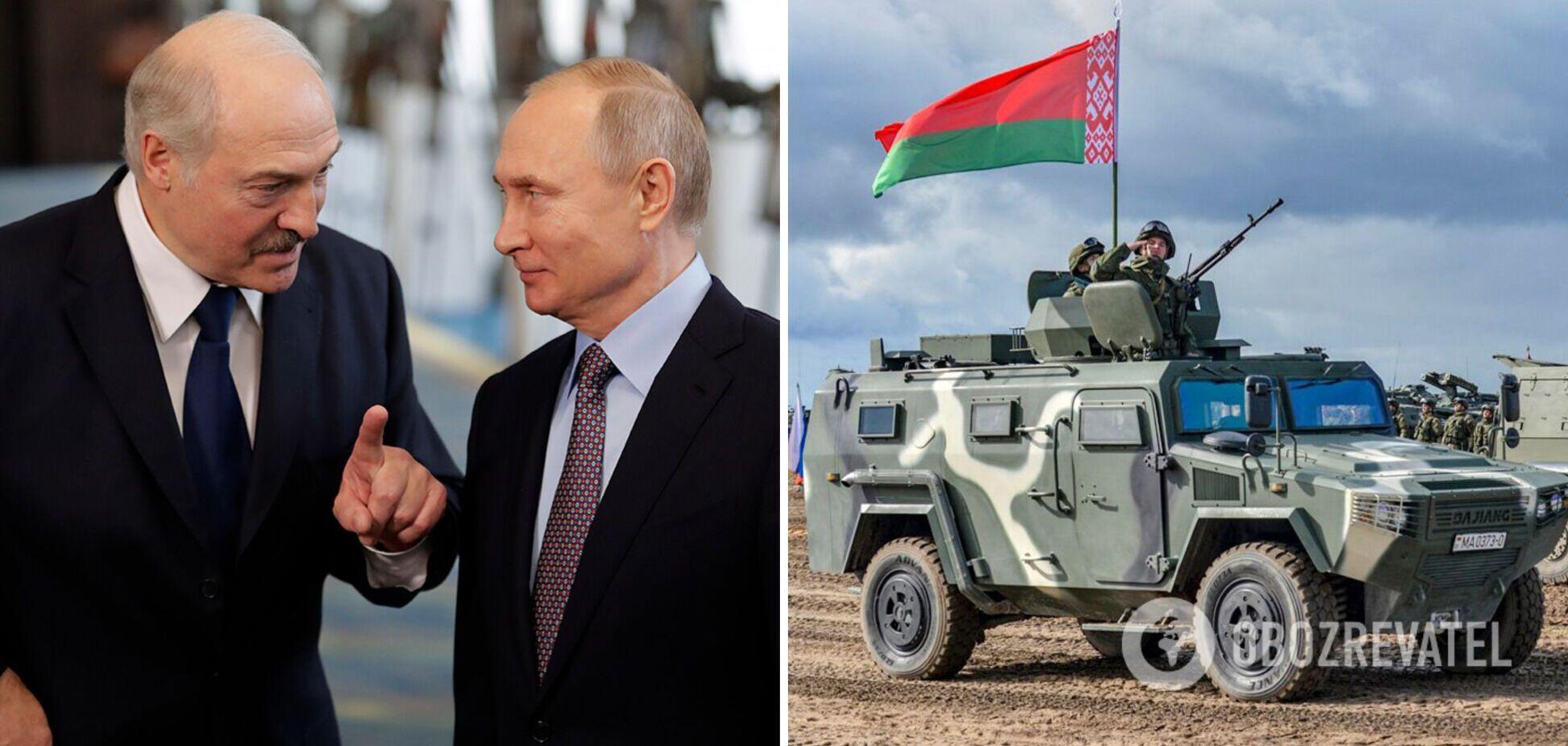 Лукашенко пригрозил сделать Беларусь 'единой базой' с Россией из-за 'агрессии' Запада