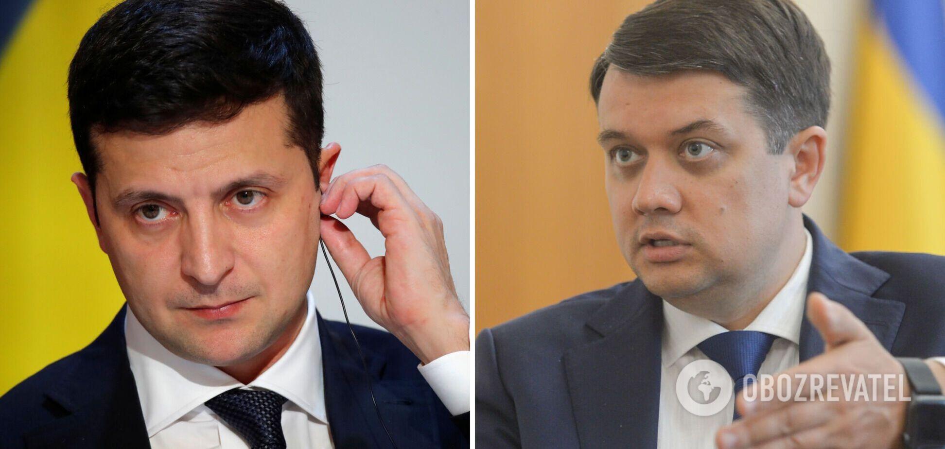 Зеленский приехал в Трускавец и назвал большую ошибку Разумкова. Видео