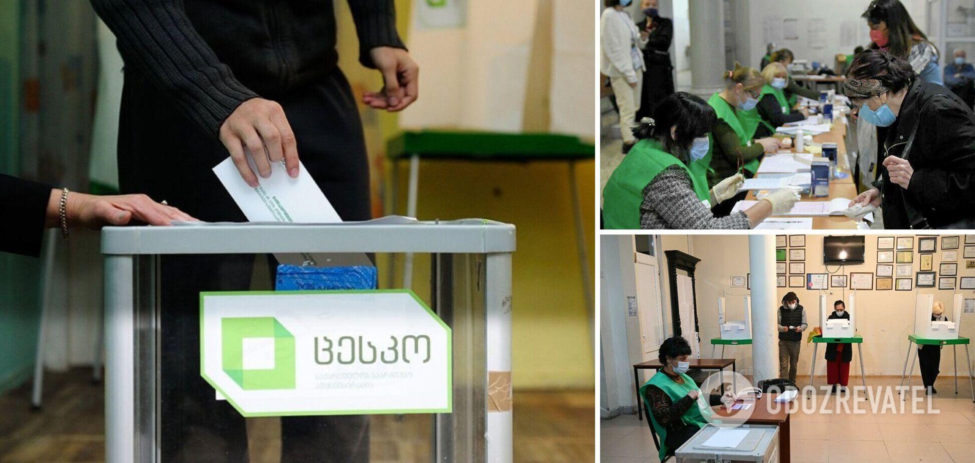 Опубліковано перші екзит-поли з виборів у Грузії