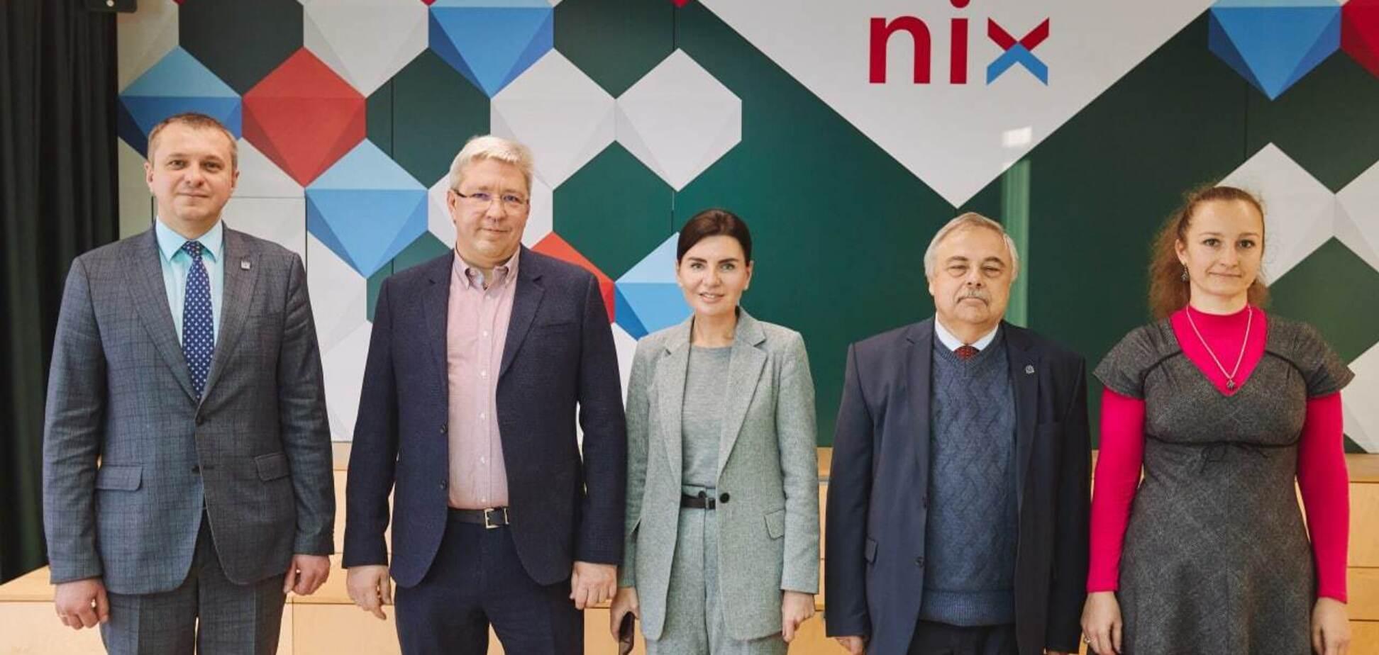 Провідна IT-компанія NIX підписала угоду про співпрацю з Харківським університетом ім. Каразіна
