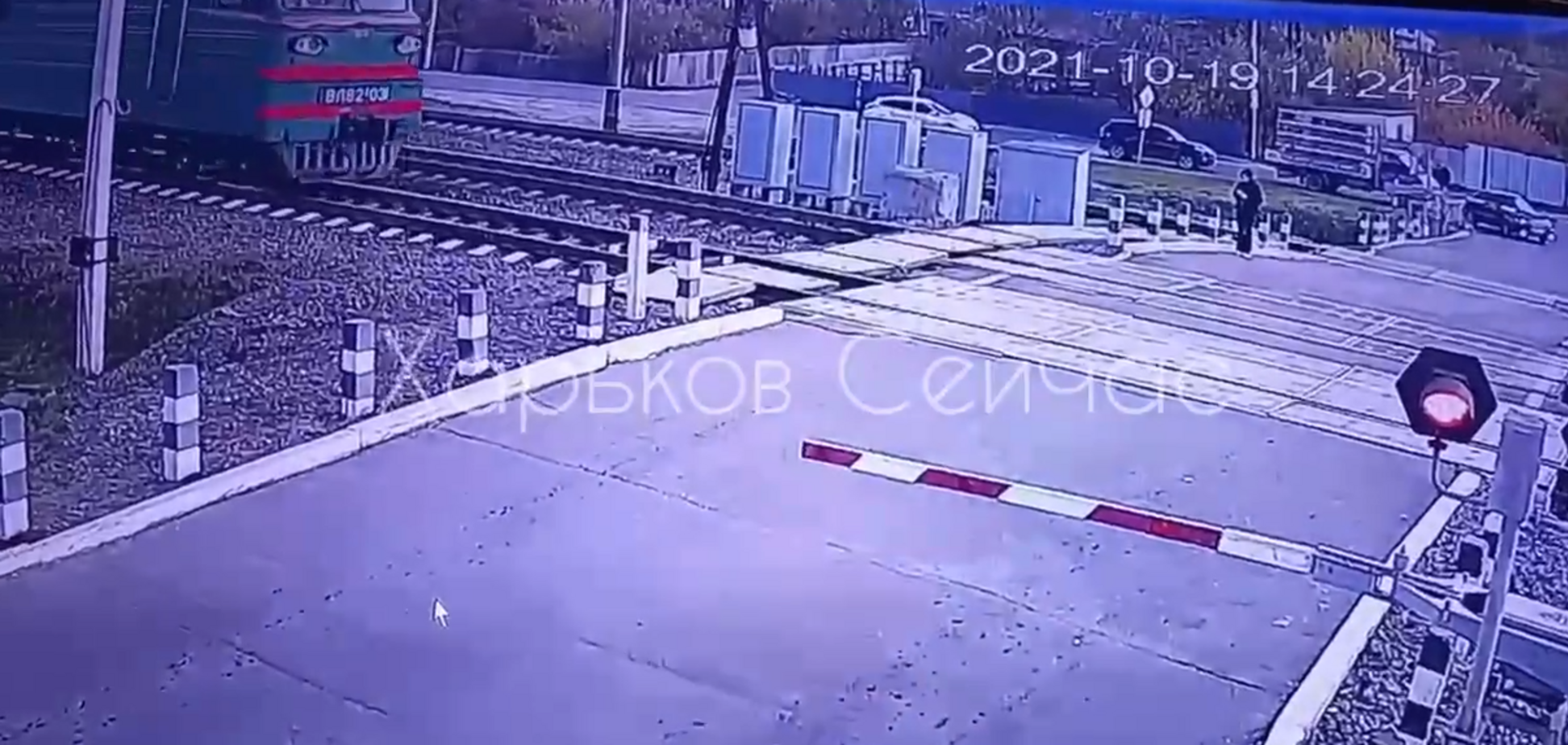 У Харківській області потяг на смерть збив дівчину