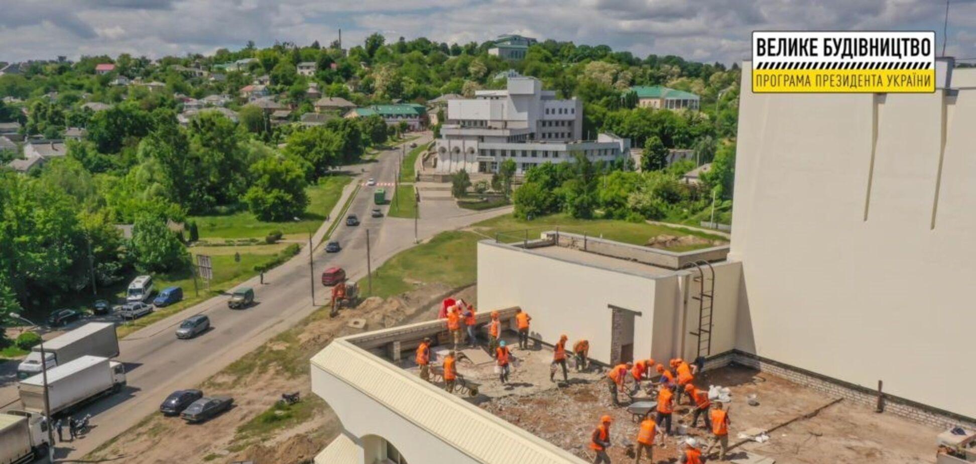 На Черкащині підготували перелік інфраструктурних проєктів на наступний рік для програми 'Велике будівництво'