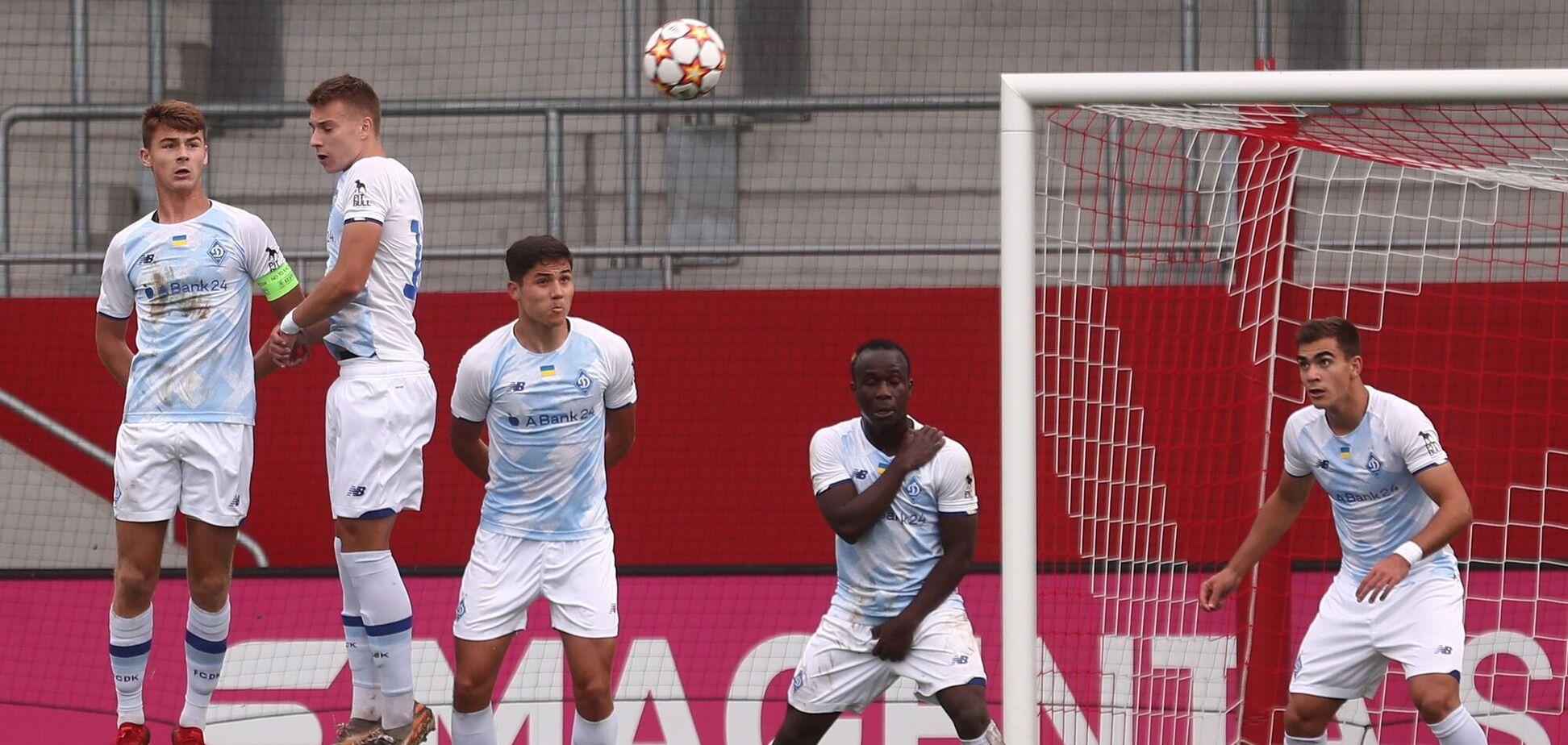 'Динамо' зіграло внічию з 'Барселоною' в Юнацькій лізі УЄФА й лідирує в групі