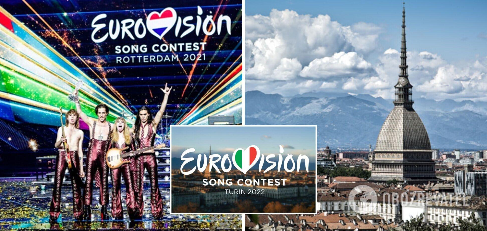 'Євробачення-2022' в Італії