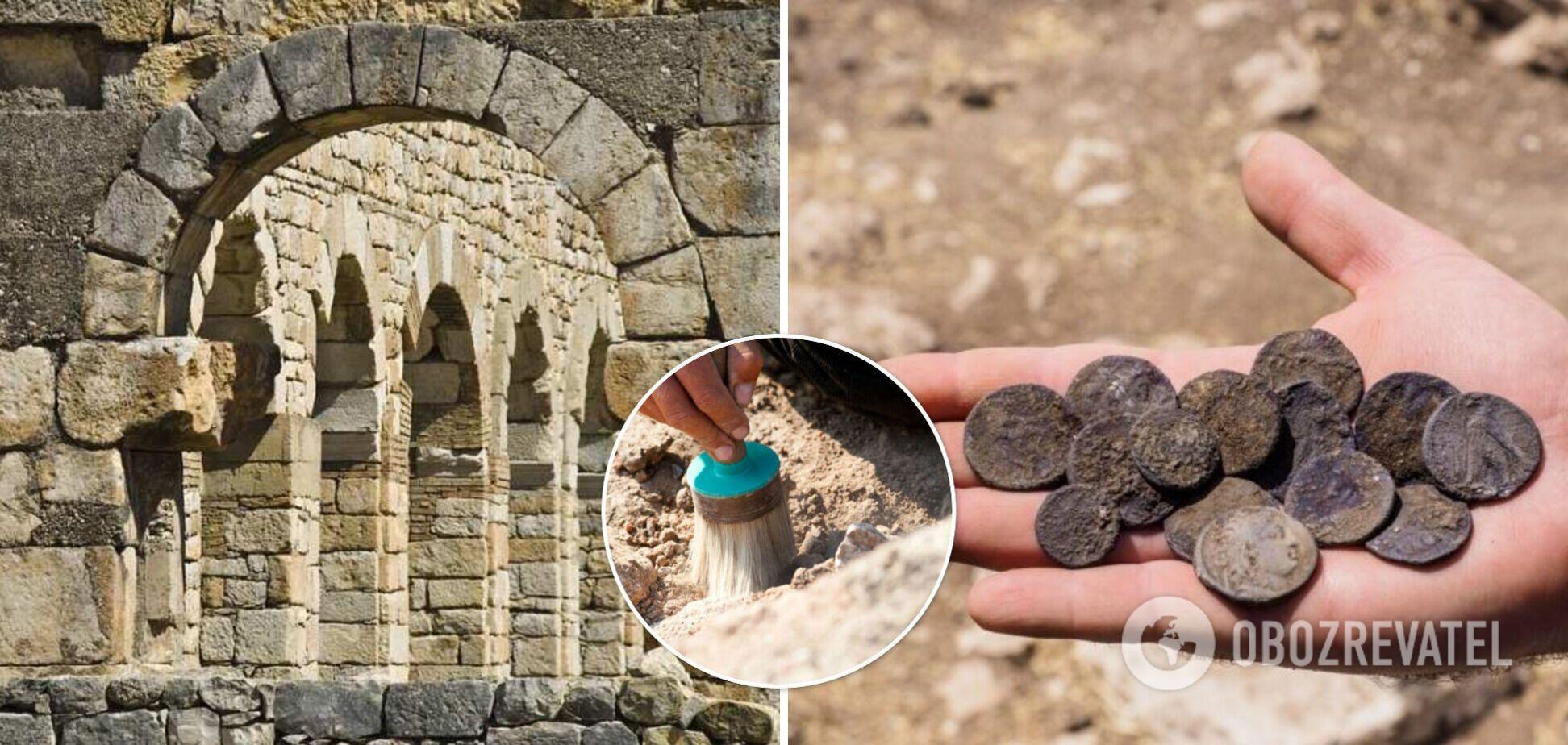На ферме в Израиле обнаружили старинные монеты и комплекс тайных пещер. Фото