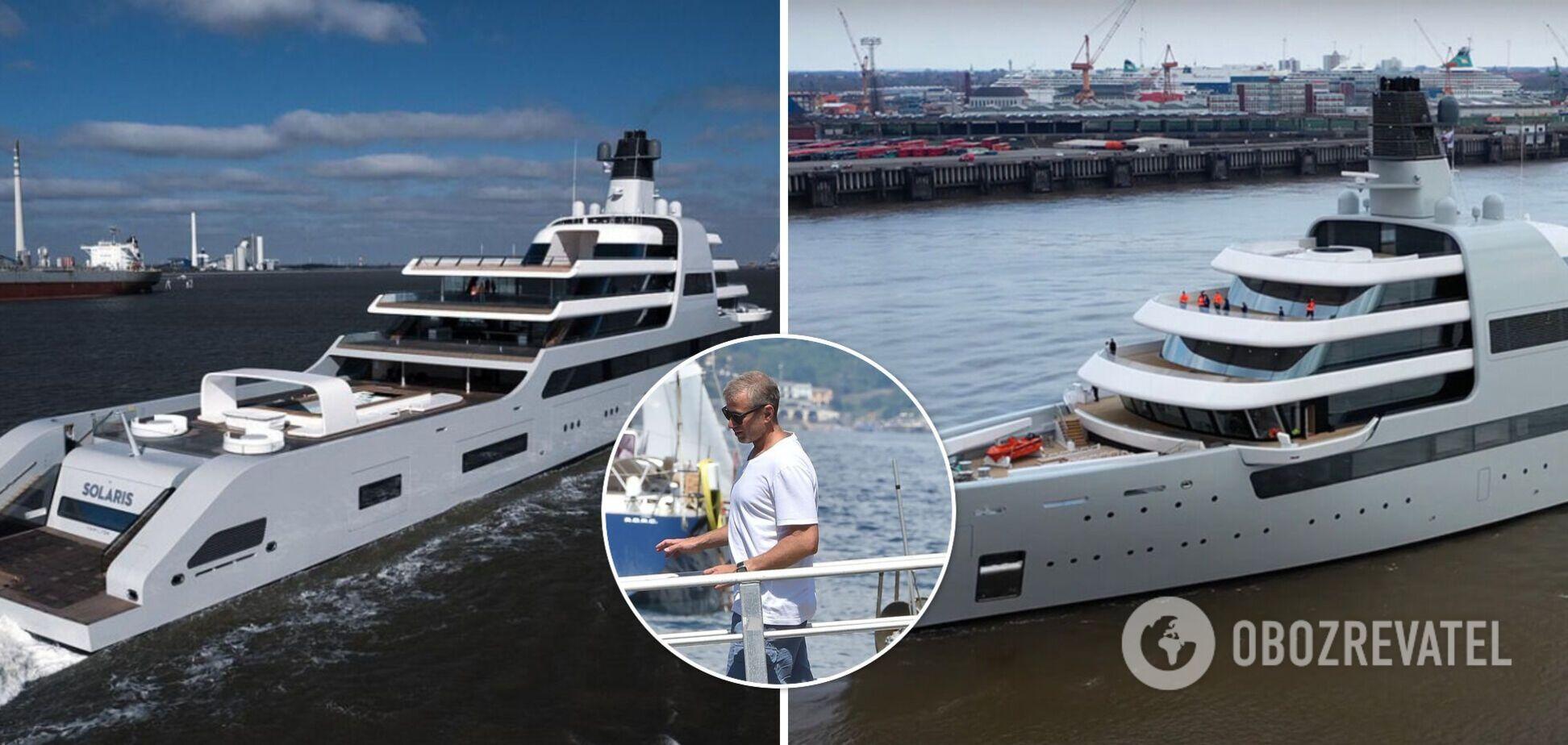 Як виглядає 145-метрова яхта Абрамовича за $545 млн. Фото
