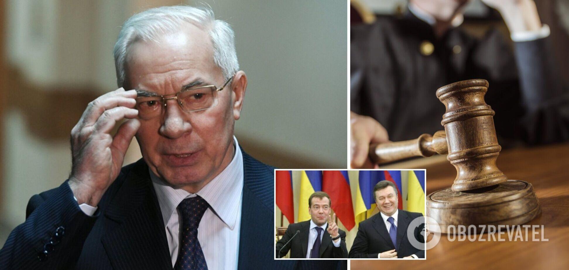 Суд заочно заарештував експрем'єра Азарова у справі Харківських угод: усі подробиці