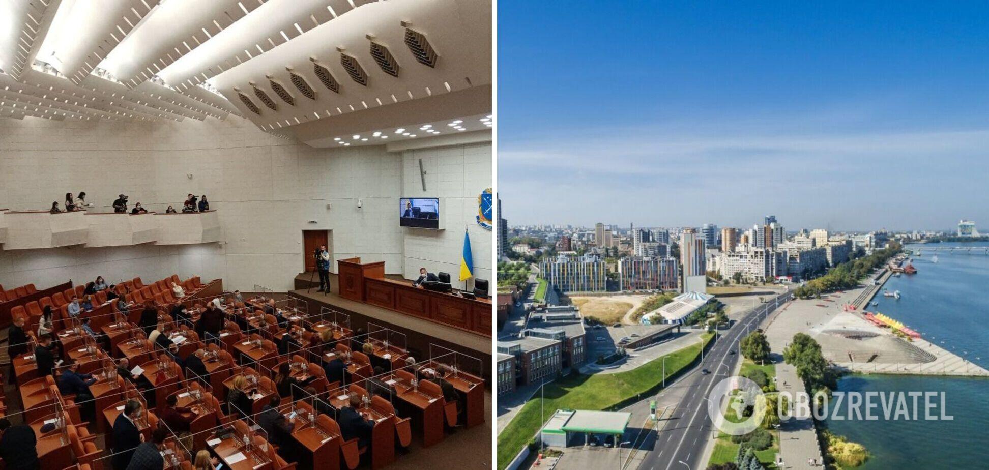 В Днепре депутаты 'Слуги народа' и 'Громадской силы' не поддержали остановку стройки на Победе-6