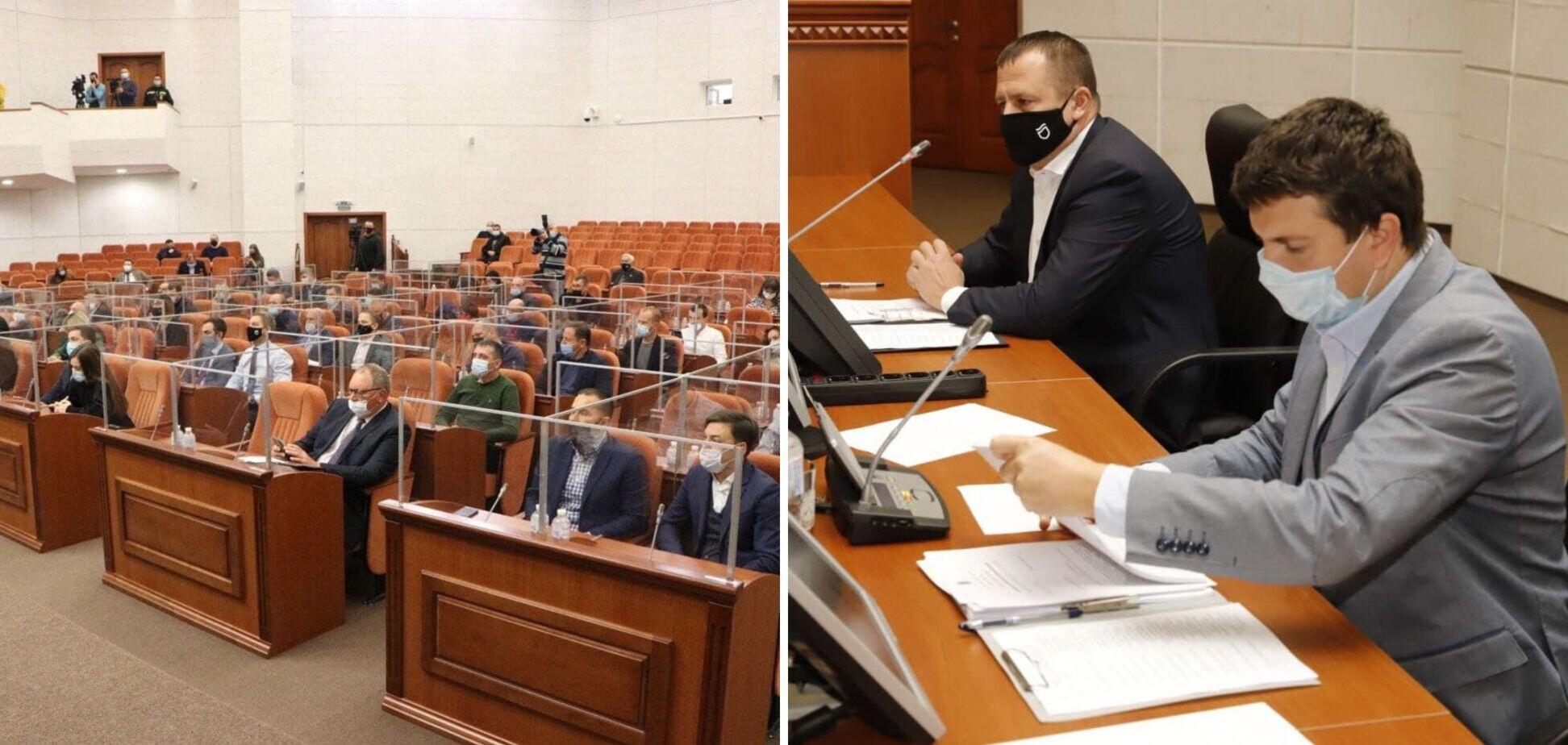 Навести порядок на набережной и в зеленых зонах Днепра: итоги очередной сессии городского совета