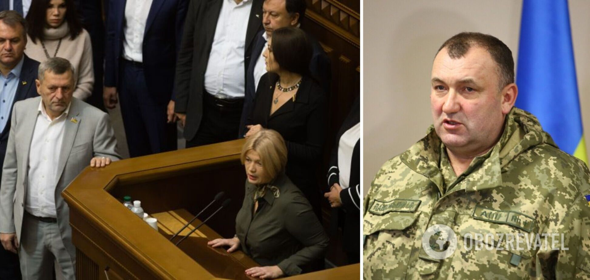 Фракція 'ЄС' у Раді привітала з днем народження генерала Павловського