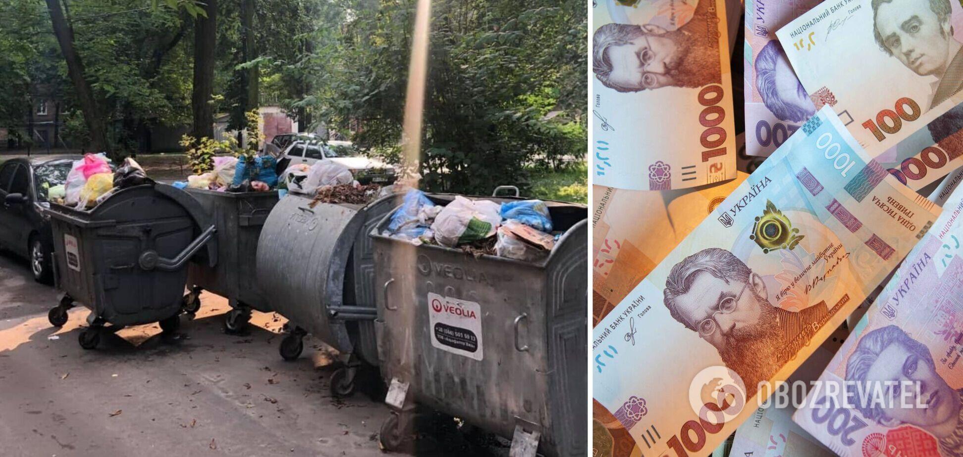 Кабмин изменил расчет тарифа на вывоз мусора