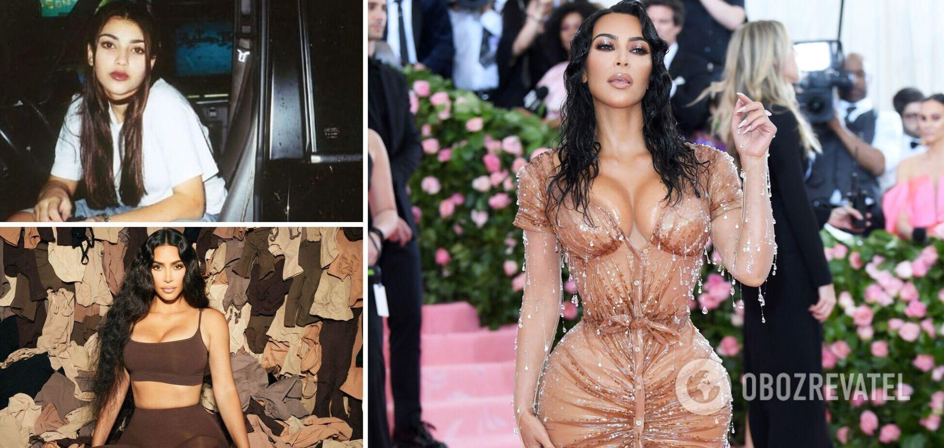 Ким Кардашьян совершенствовала свою фигуру