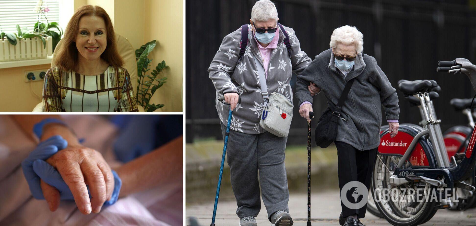 Алла Волоха призвала пенсионеров срочно вакцинироваться