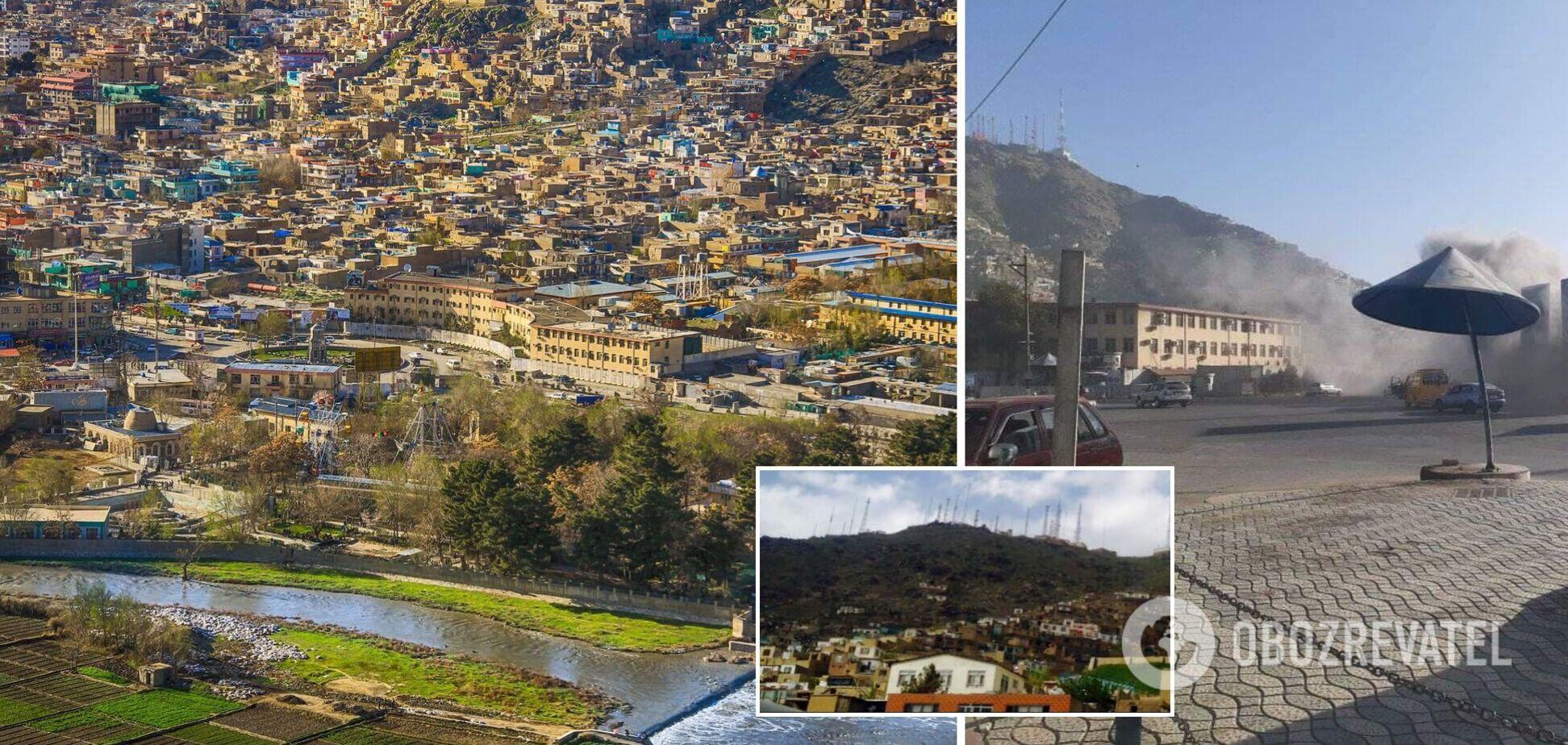 В Кабуле прогремел мощный взрыв, есть пострадавшие. Фото