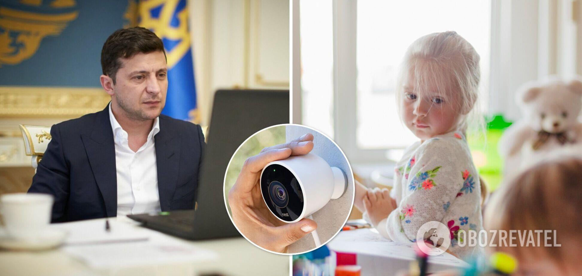 Зеленський повинен розглянути петицію про обов'язкові камери в дитсадках
