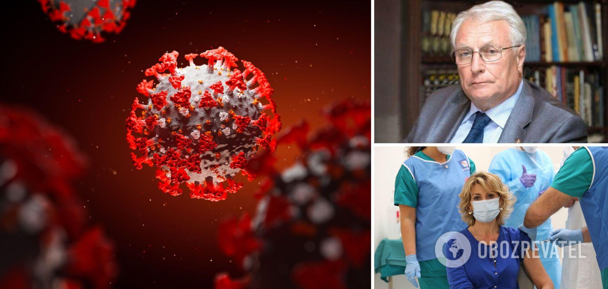 Академик раскрыл опасность новой мутации коронавируса: это вариант Дельты