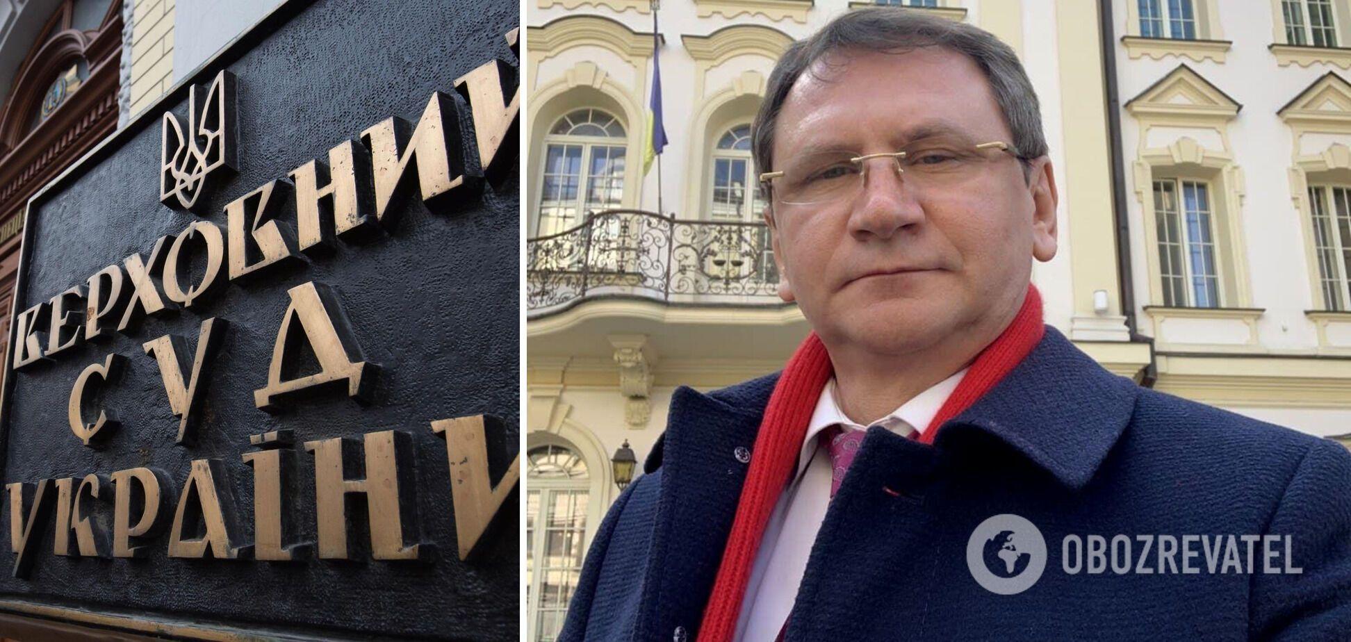 судья Верховный суд Олег Ткачук