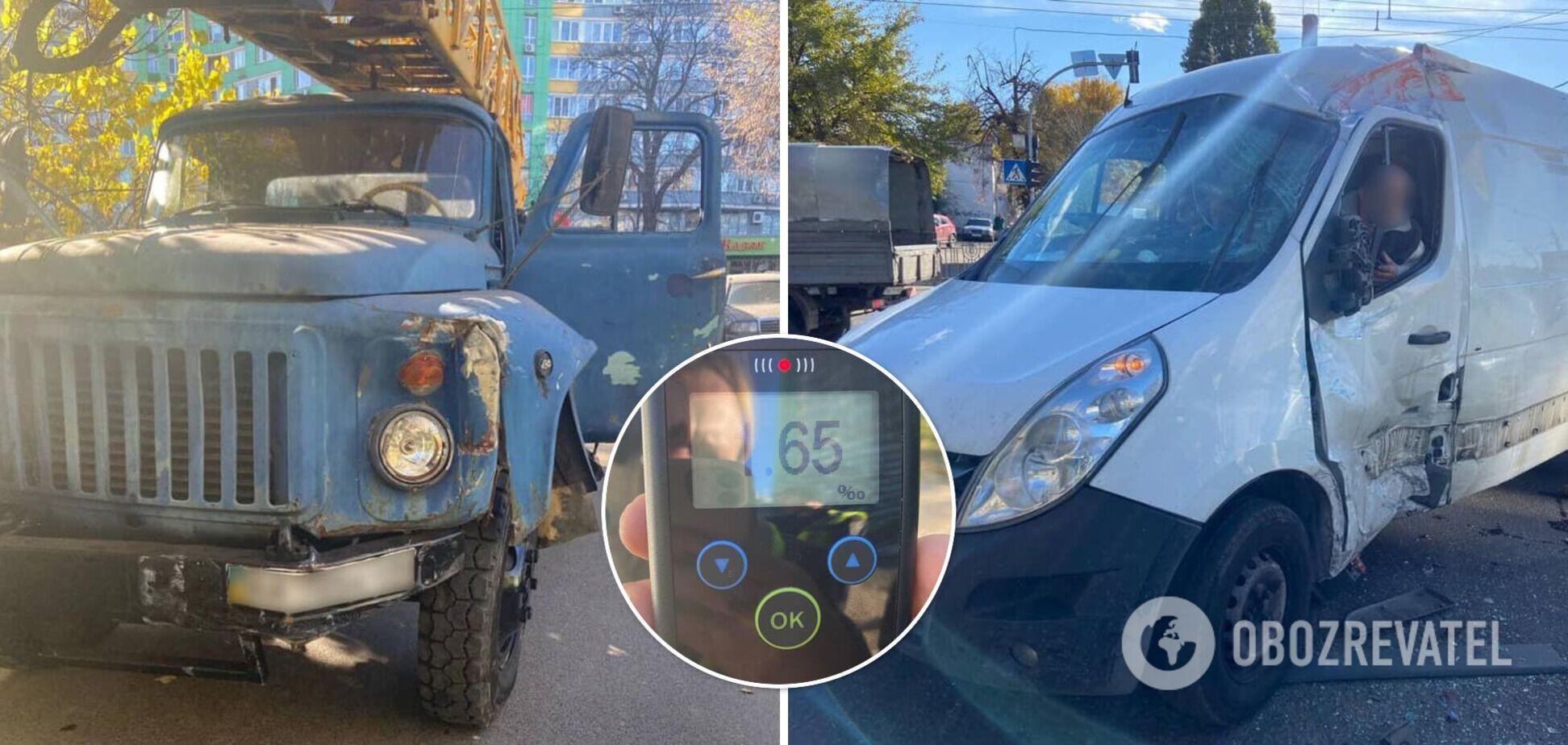 Водієві автокрана загрожують великі штрафи