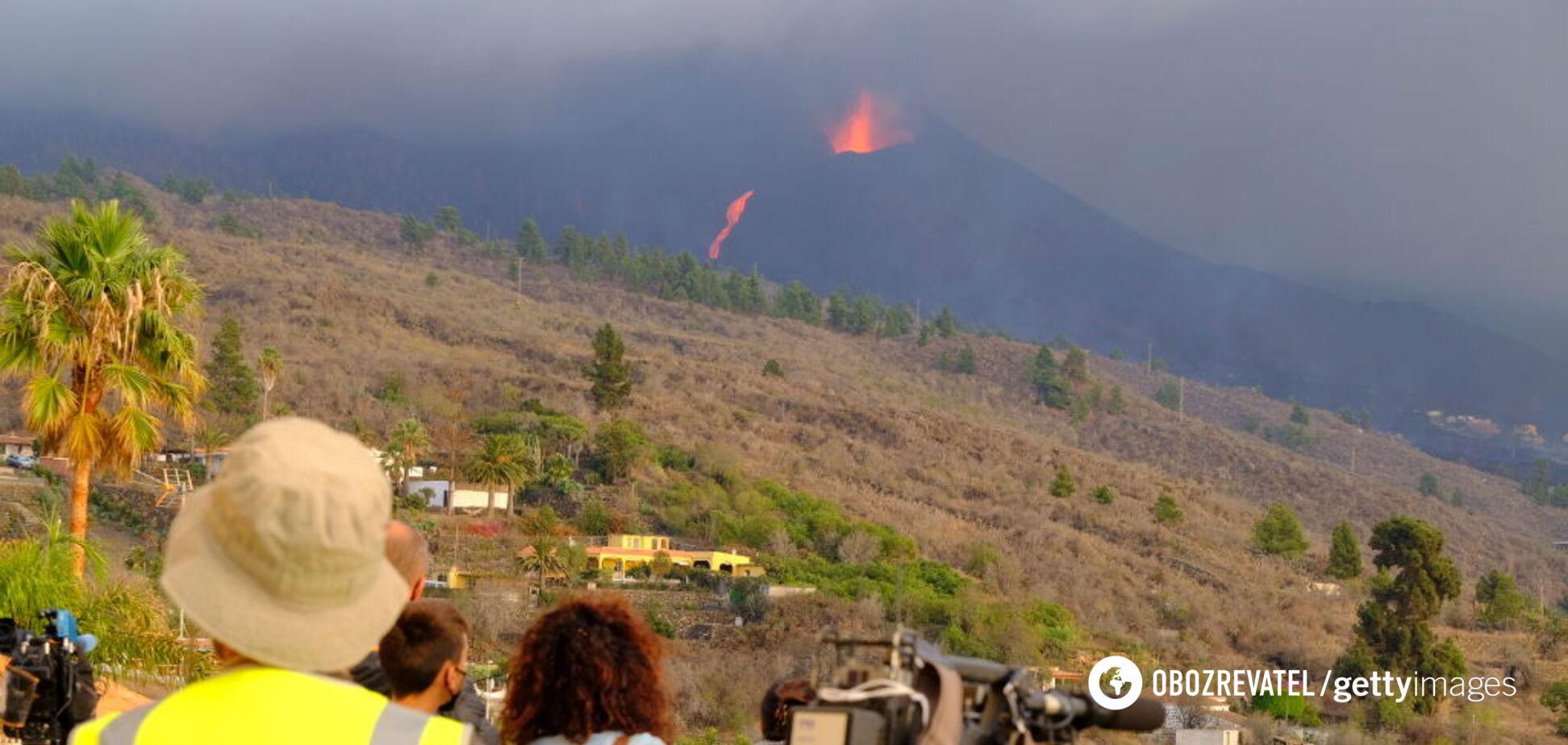 На острові Ла-Пальма трапився потужний землетрус: евакуювали близько 7 тис. осіб