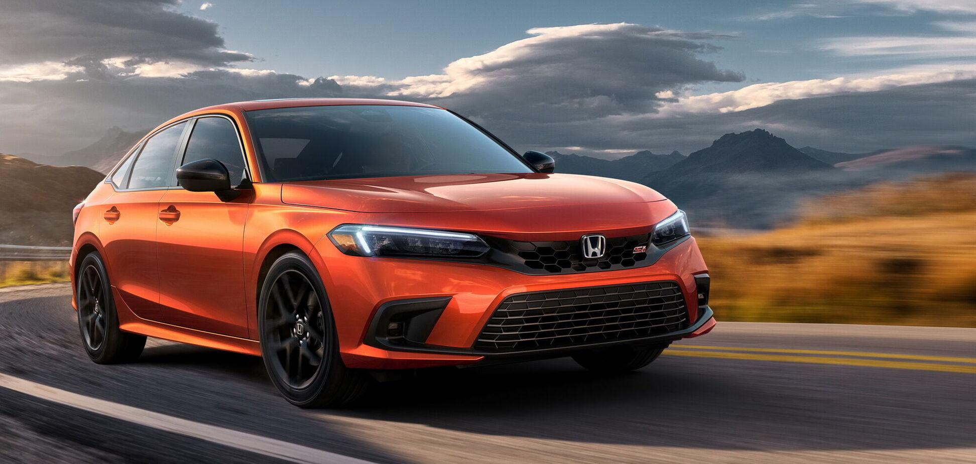 Honda підготувала спортивну версію Civic Si. Відео