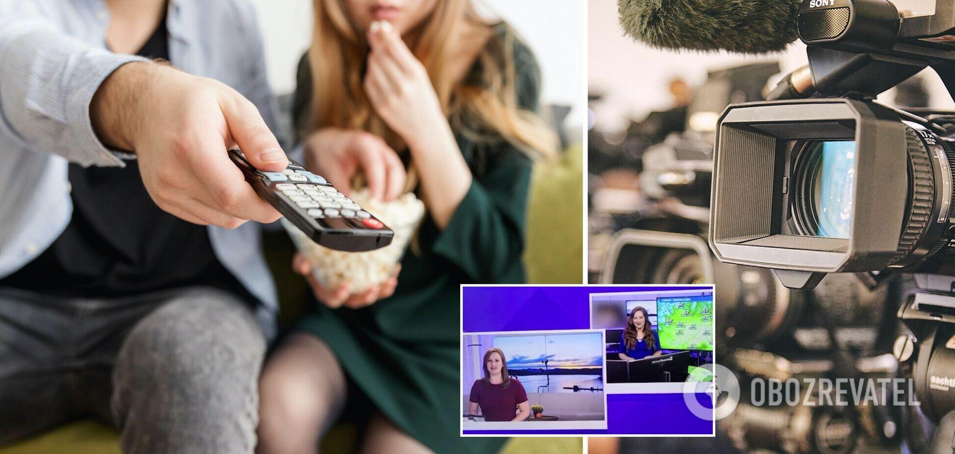 Курйоз на телеканалі