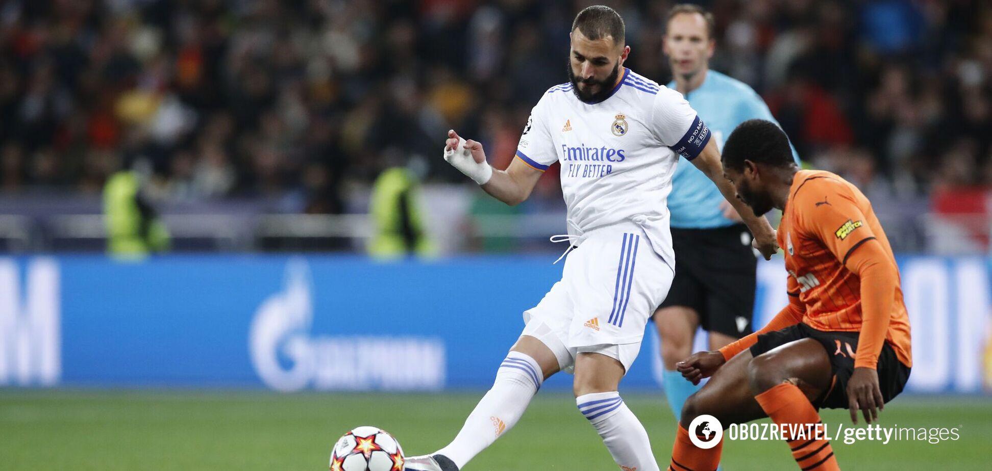 Бензема назвал 'Шахтер' грозным соперником после его разгрома 'Реалом' в Лиге чемпионов