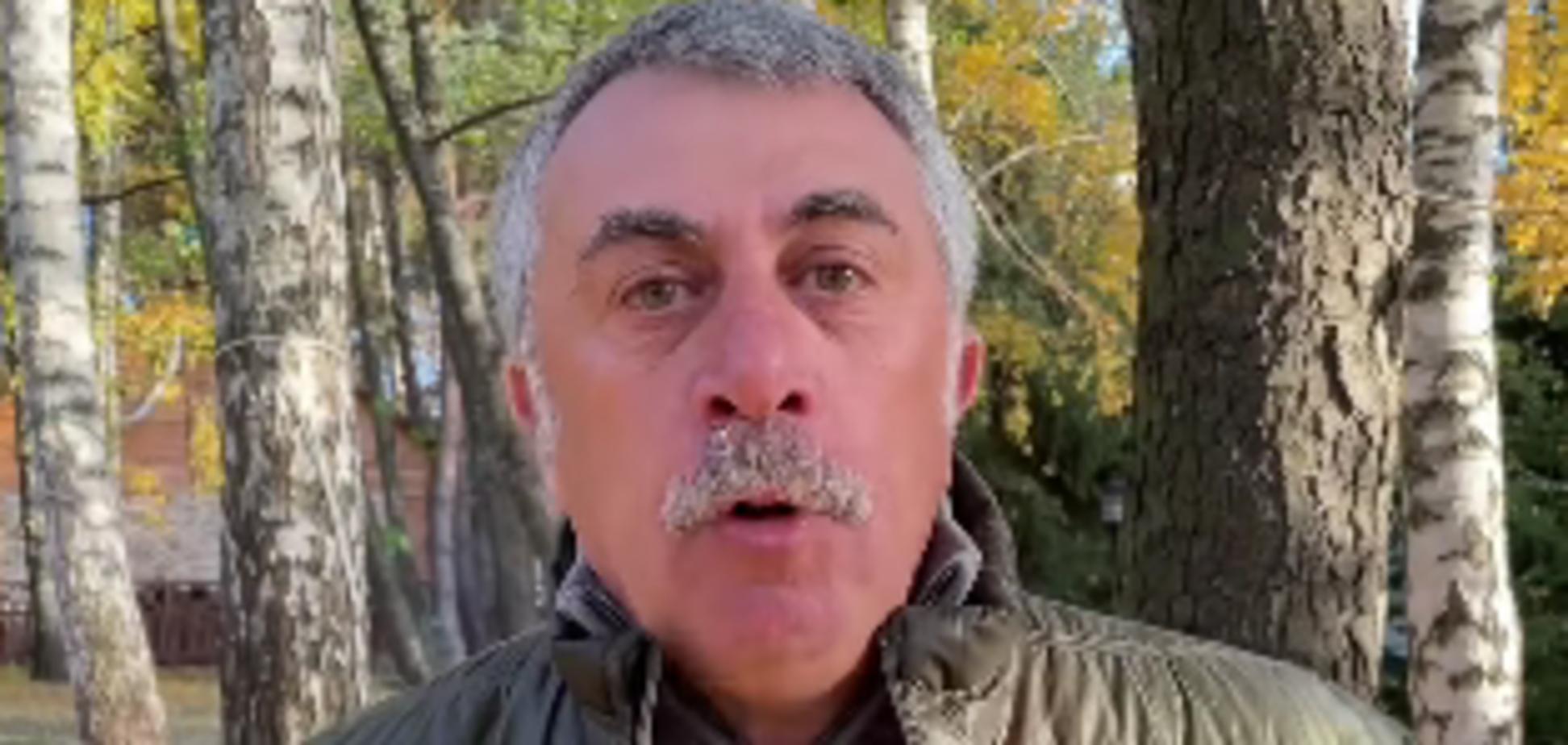 Комаровський емоційно закликав українців вакцинуватися