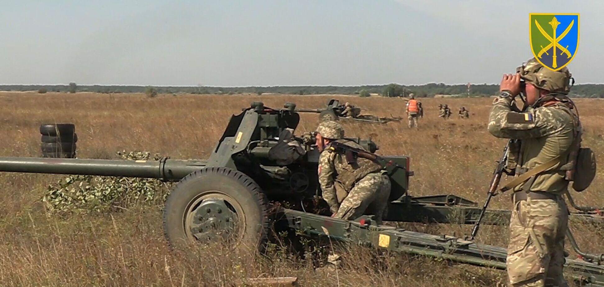 Українські військові провели навчання