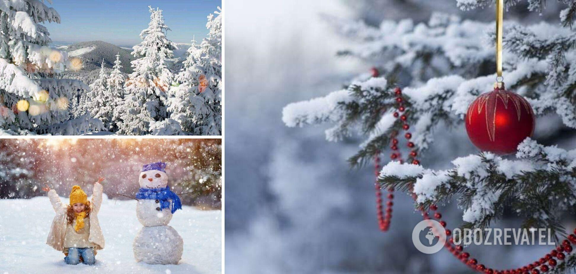 Снігу на Новий рік можна не чекати? Синоптикиня розповіла, якою буде погода взимку в Україні