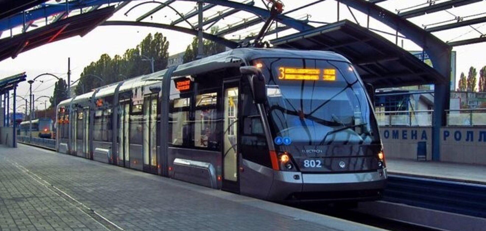 Швидкісний трамвай у Києві продовжать до Палацу спорту – Мінінфраструктури