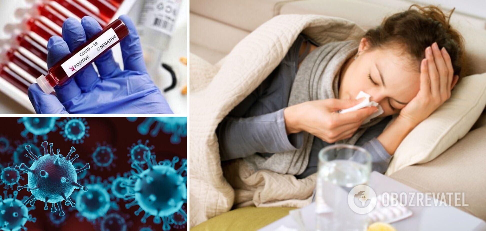Лікар розповів, як відрізнити симптоми COVID-19 від інших ГРВІ та коли потрібно звертатися до медиків