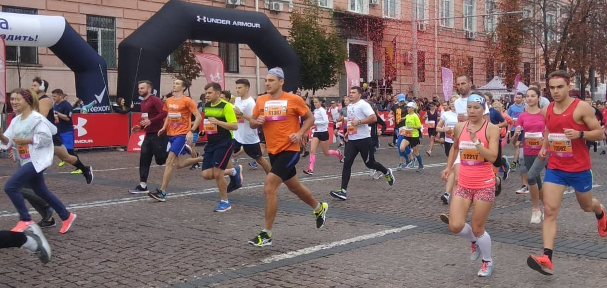 Учасники марафону будуть долати дистанції від 4,2 до 42 кілометрів