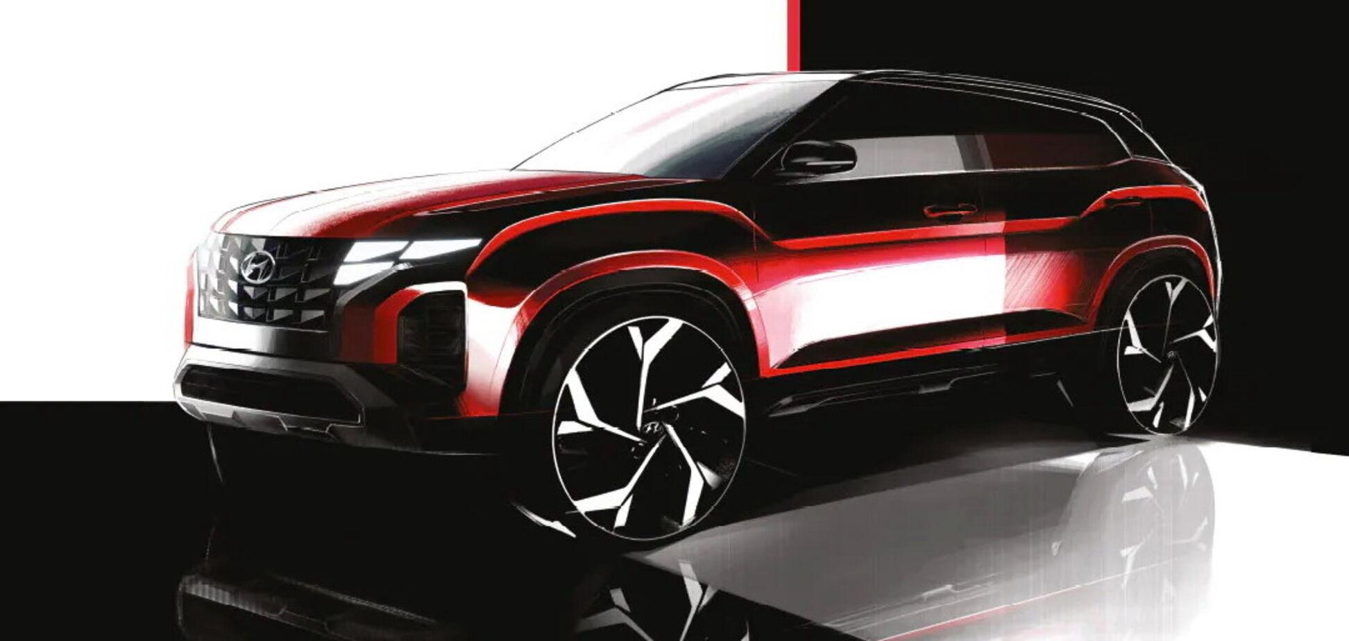 Hyundai Creta перетворять на маленький Tucson
