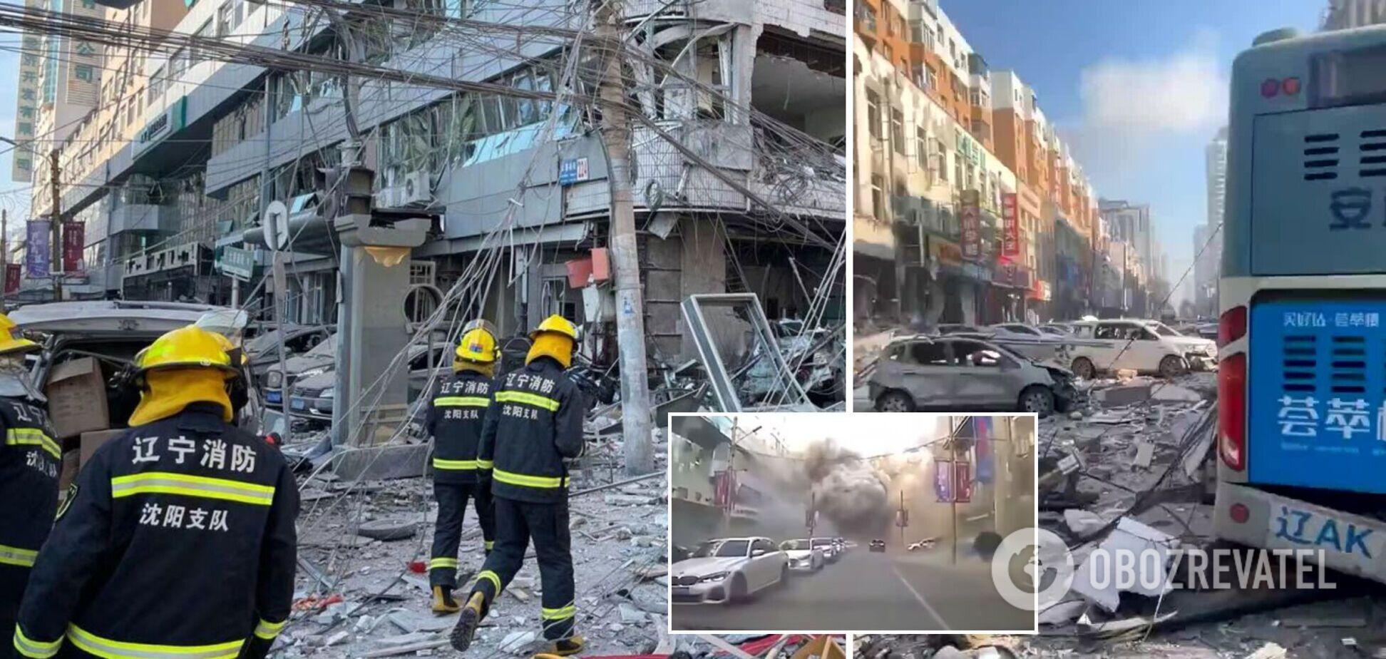 У Китаї прогримів потужний вибух у ресторані: є загиблі, десятки постраждалих. Фото і відео