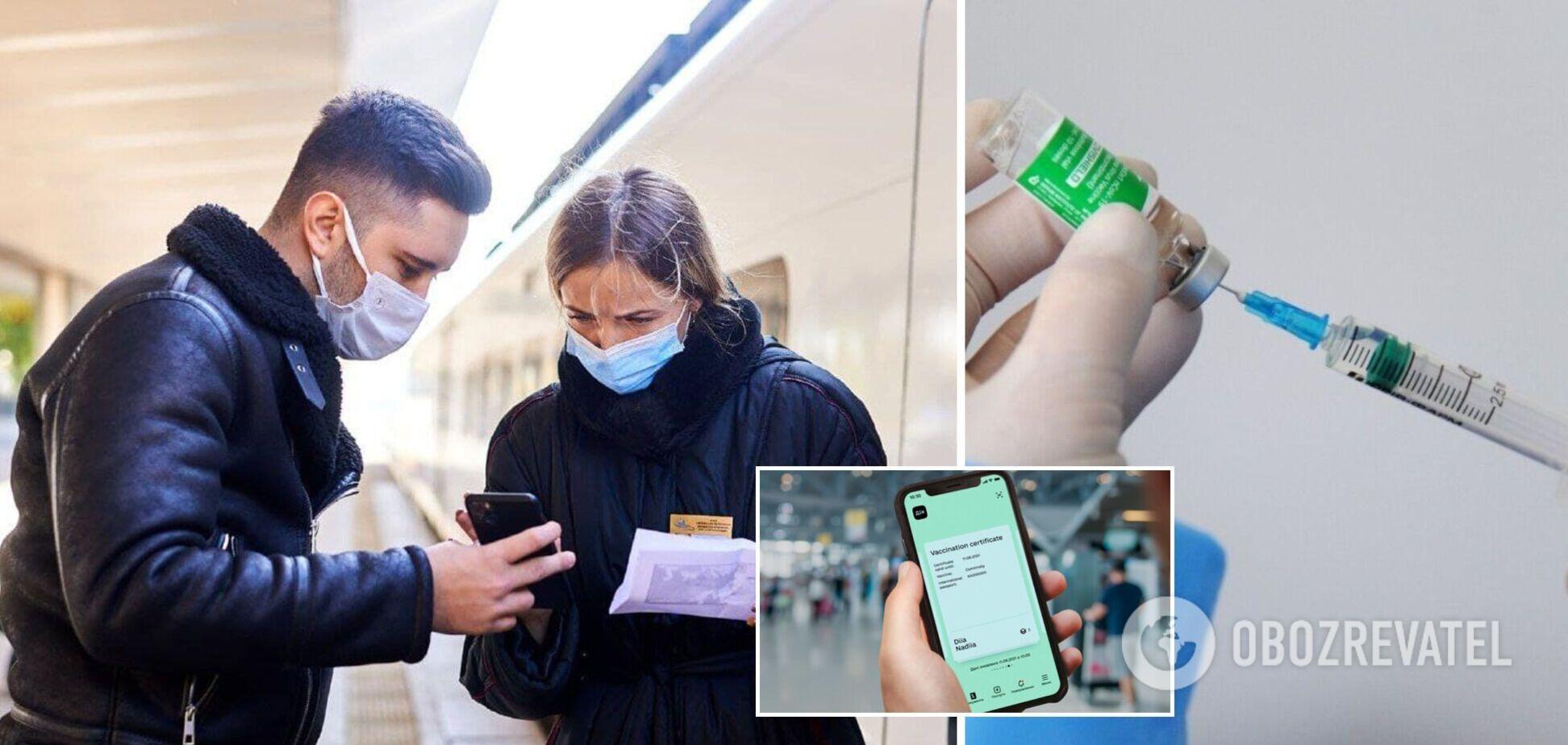 Пункты вакцинации против COVID-19 откроют на железнодорожных вокзалах всех областных центров: названа дата