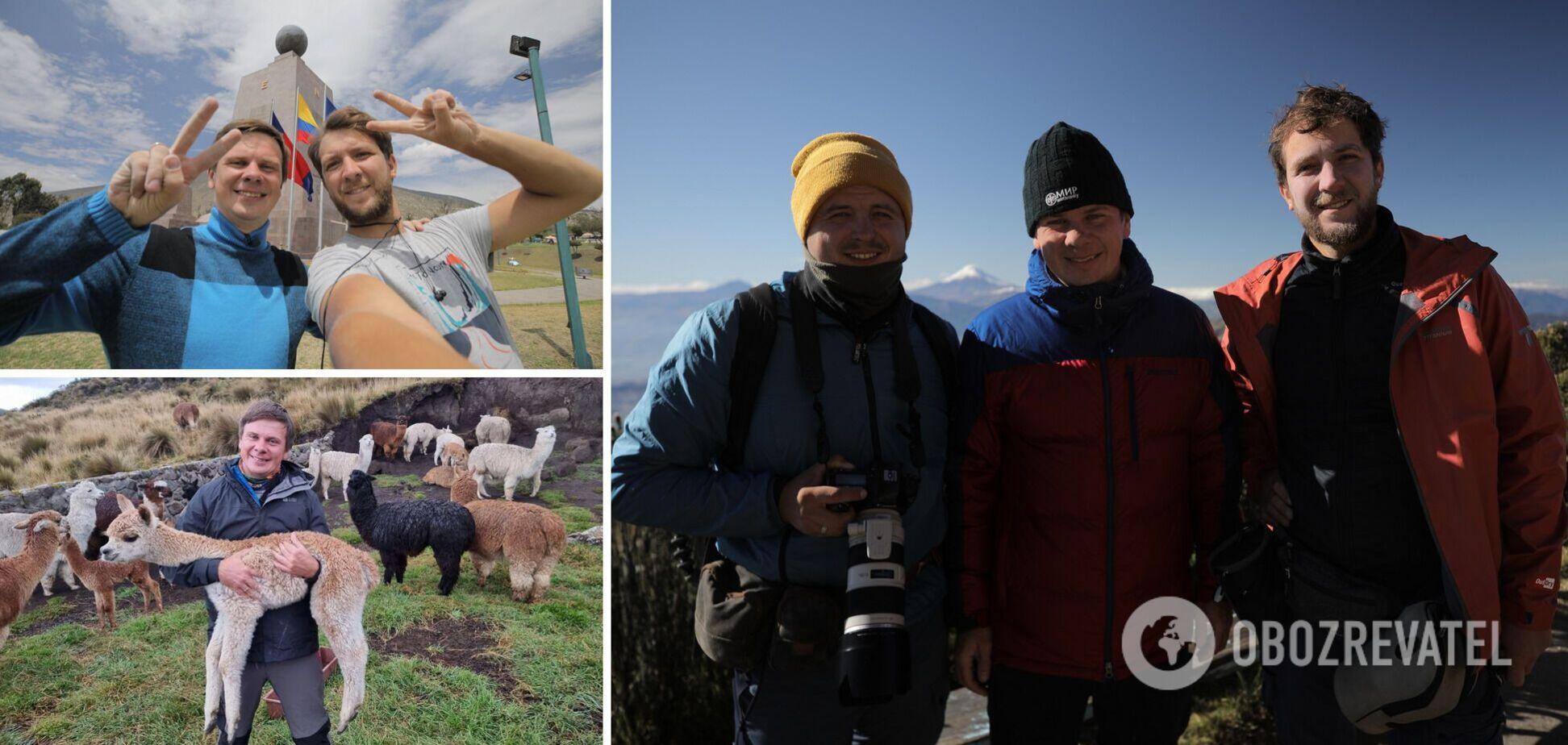 'Світ навиворіт' стає ще крутішим – в Еквадорі до знімальної групи приєднається новий член експедиції