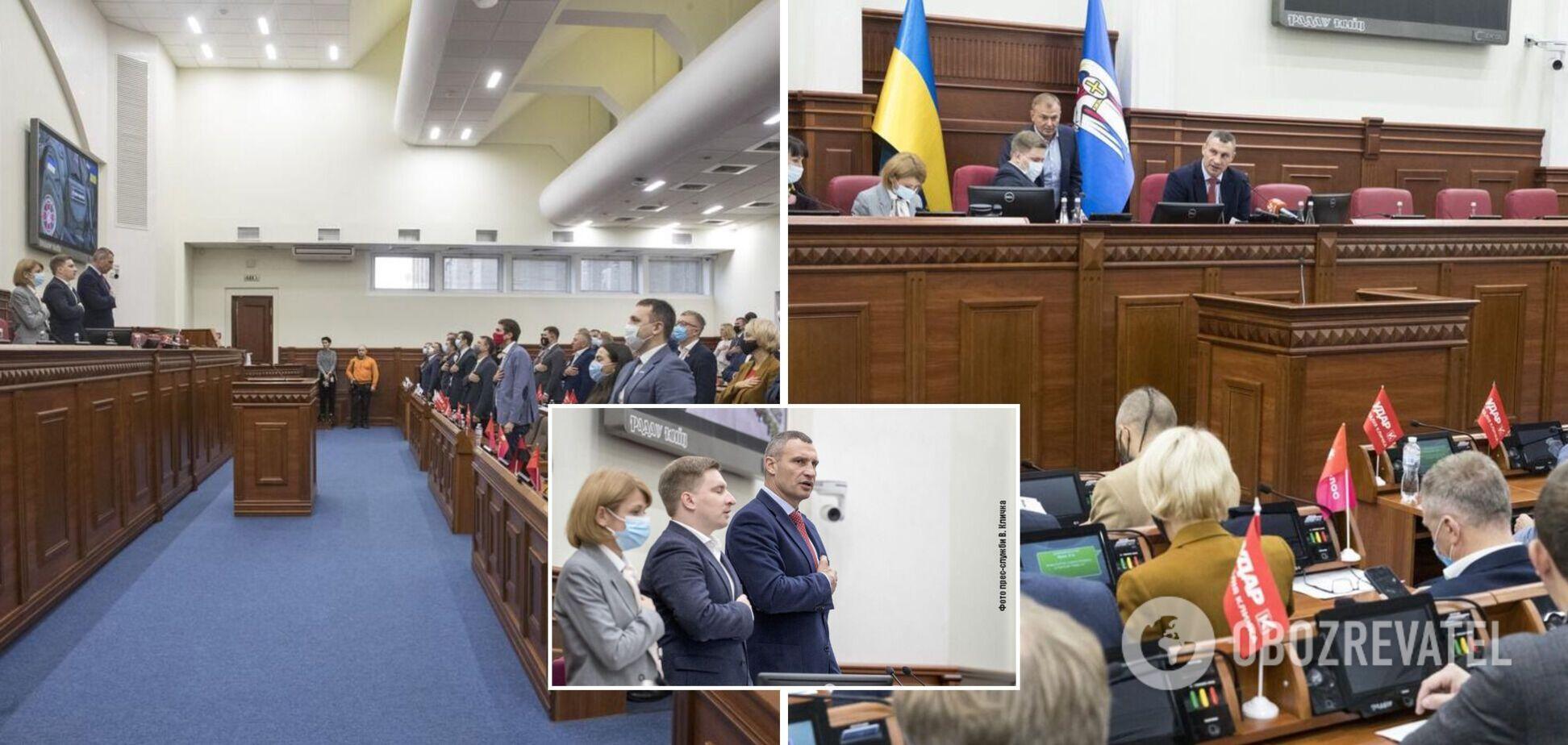 Кличко закликав депутатів ухвалити рішення про виплати матеріальної компенсації шести сім'ям загиблих в АТО киян
