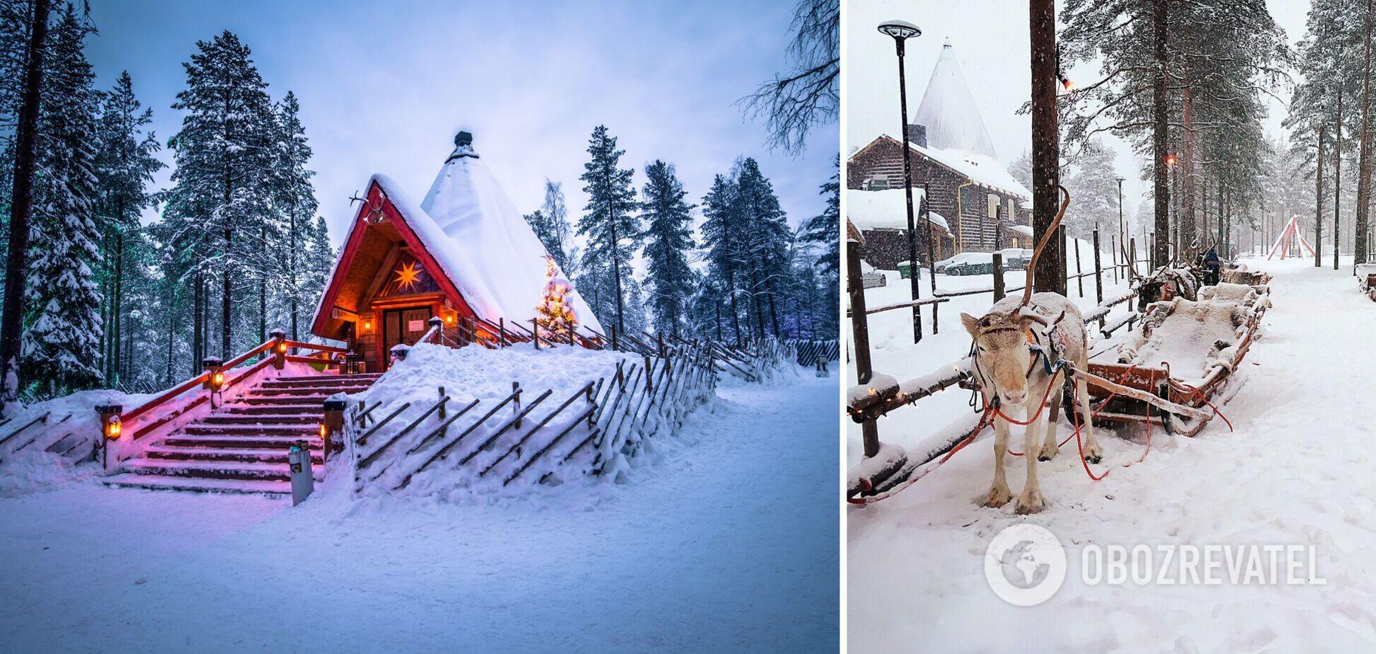 Сніг відразу створив у селищі казкову атмосферу