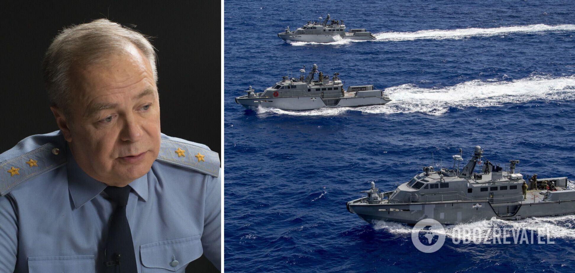 Ігор Романенко пояснив можливості нового ракетного озброєння ВМС України