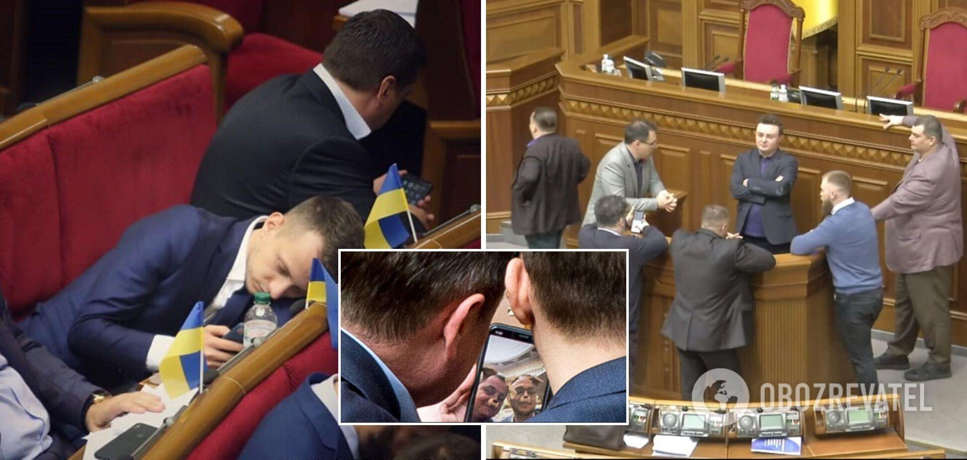 Один день з життя Верховної Ради: депутат є – толку немає