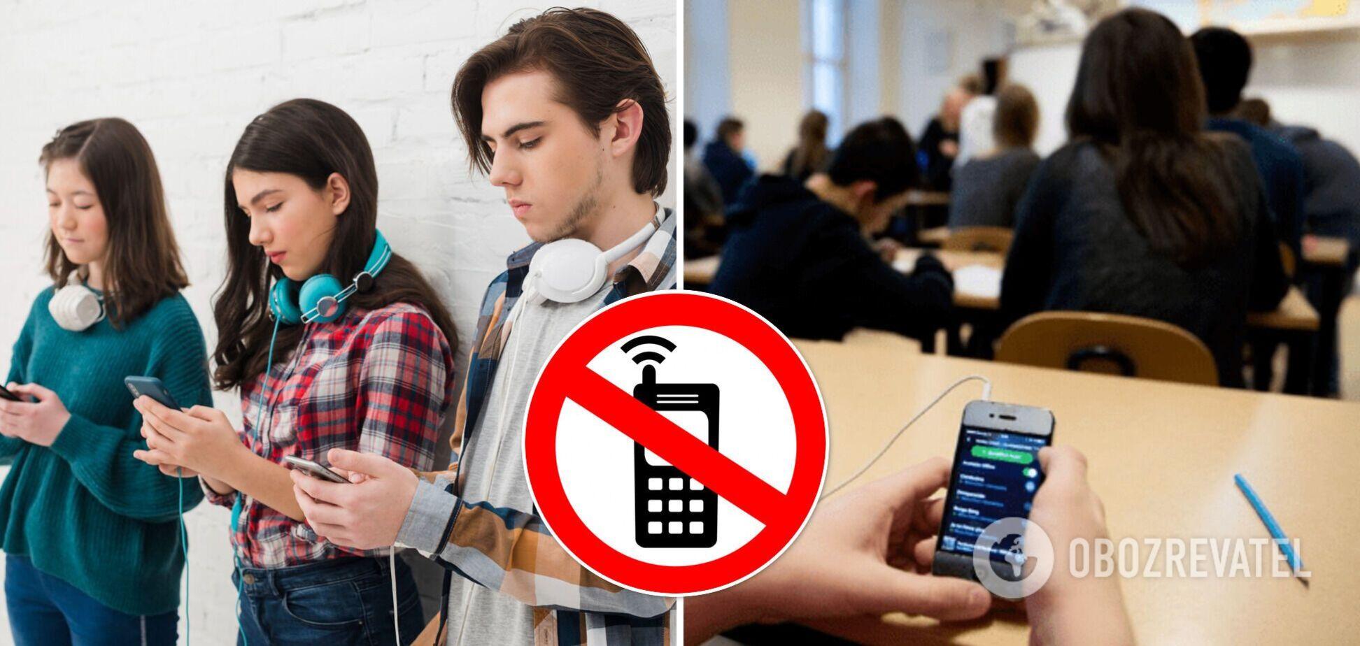В Одесі вирішили боротися з мобільними телефонами в школах