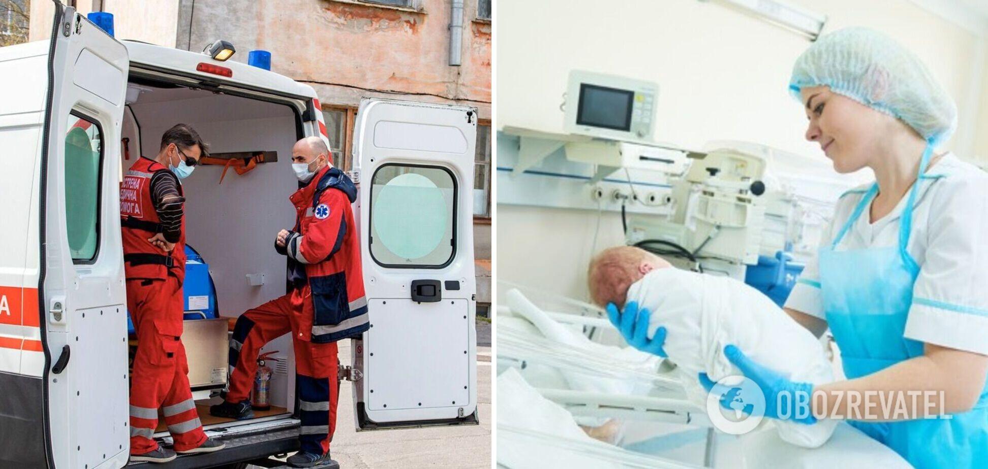 На Черниговщине школьница родила ребенка от 17-летнего парня: появились данные о состоянии матери и ребенка. Видео